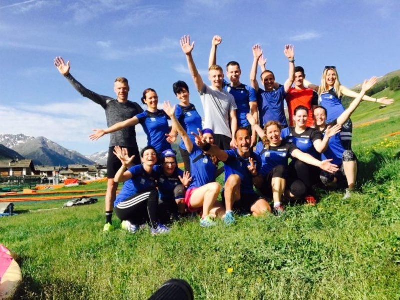 Livigno trainingslager